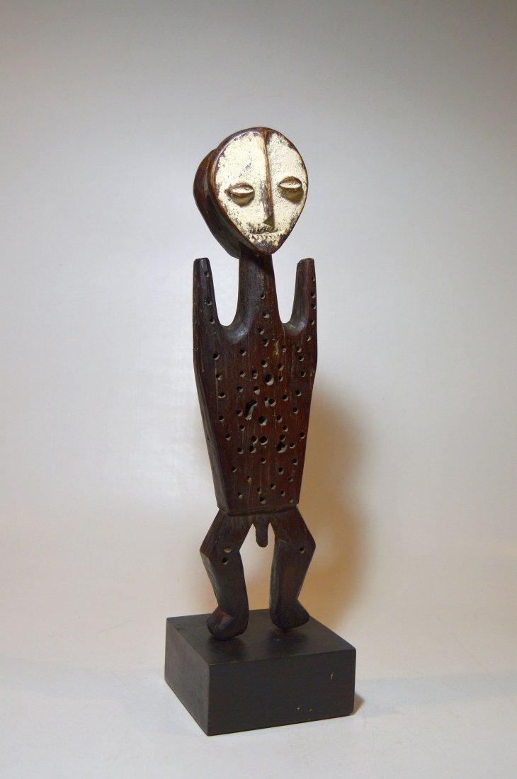 Rare Old janus Male & female Lega idol, African Tribal