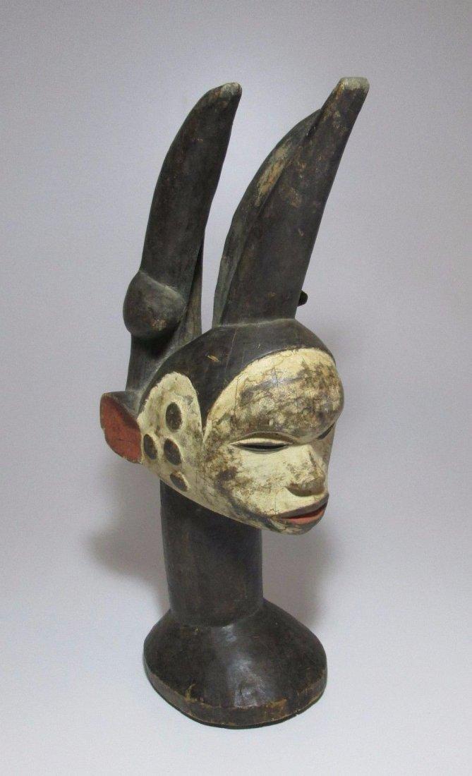 Fantastic and Elaborate Idoma headdress, African Art