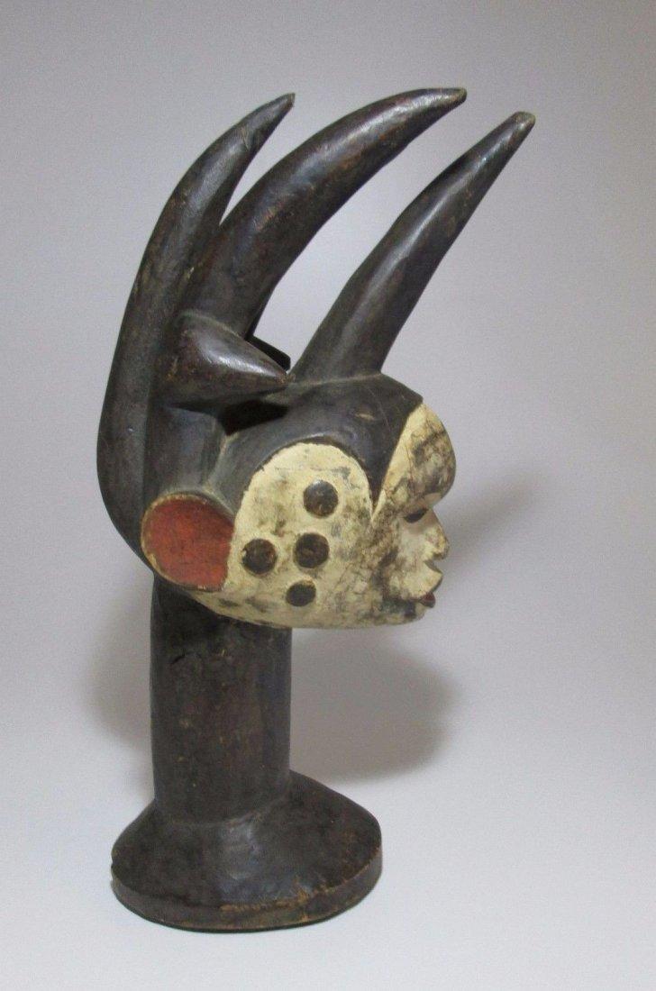 Fantastic and Elaborate Idoma headdress, African Art - 2