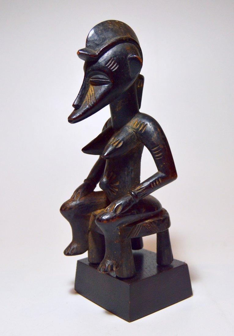 Wonderful old Senufo female sculpture, African Art