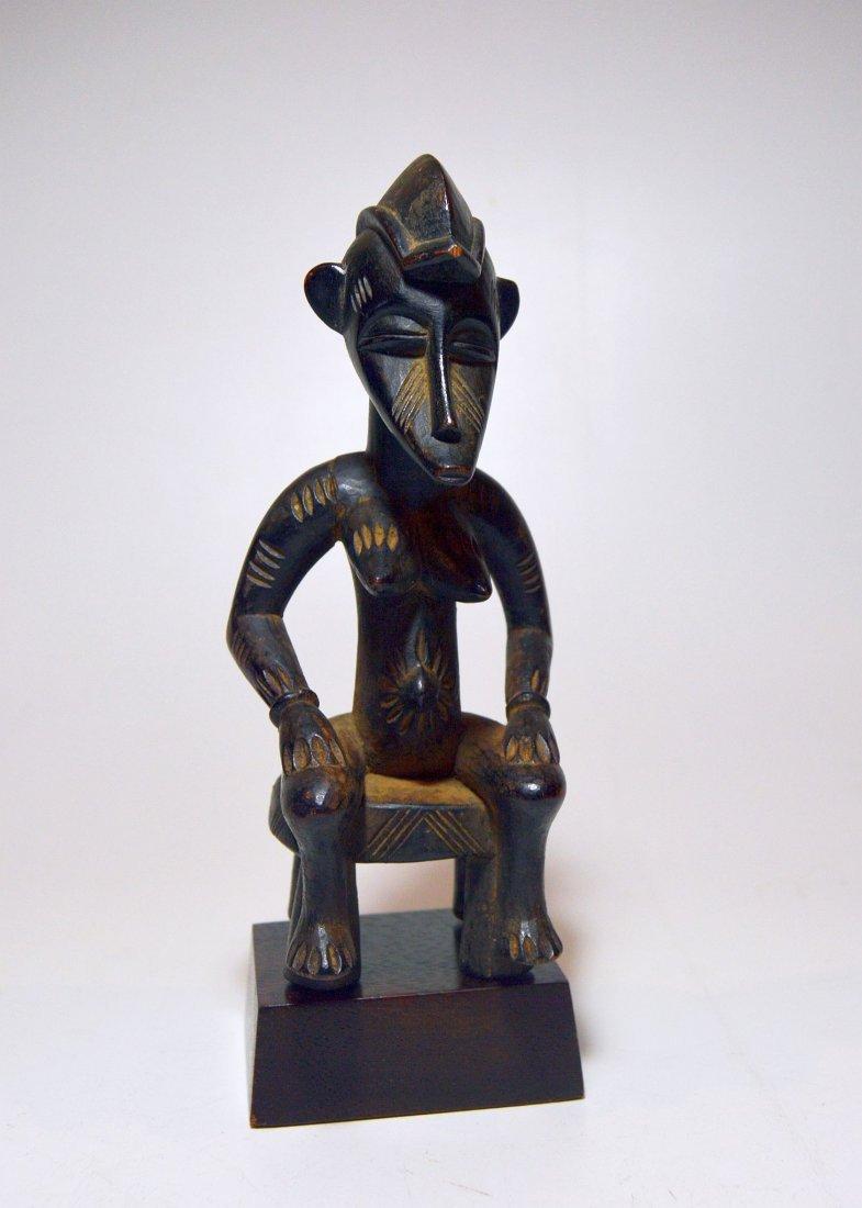 Wonderful old Senufo female sculpture, African Art - 2