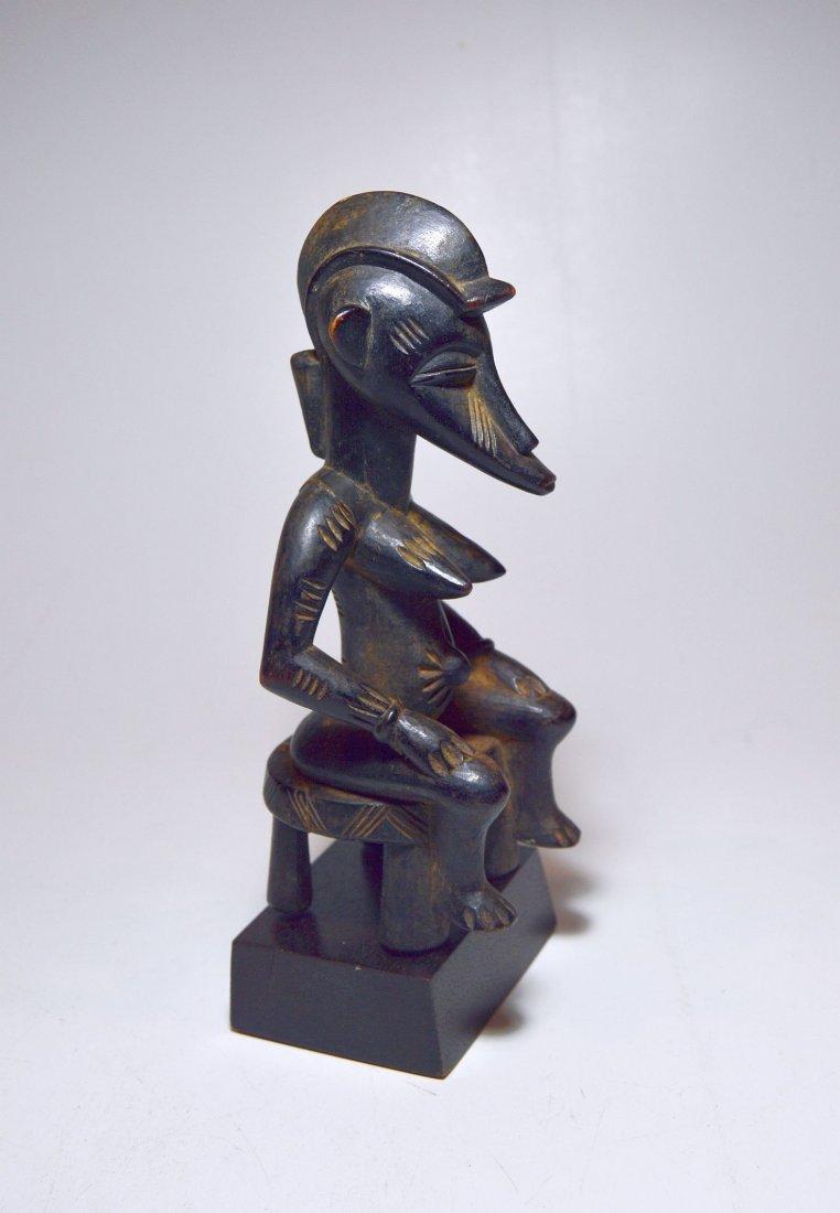 Wonderful old Senufo female sculpture, African Art - 3