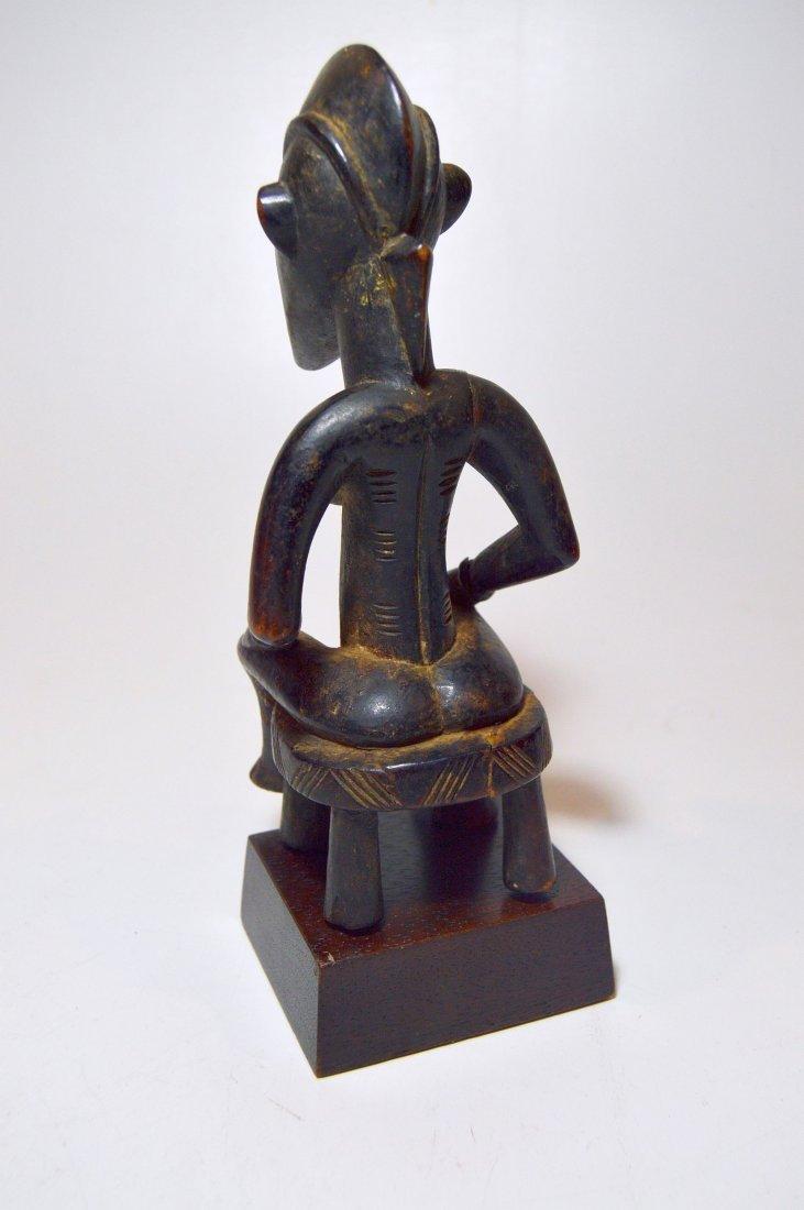 Wonderful old Senufo female sculpture, African Art - 4