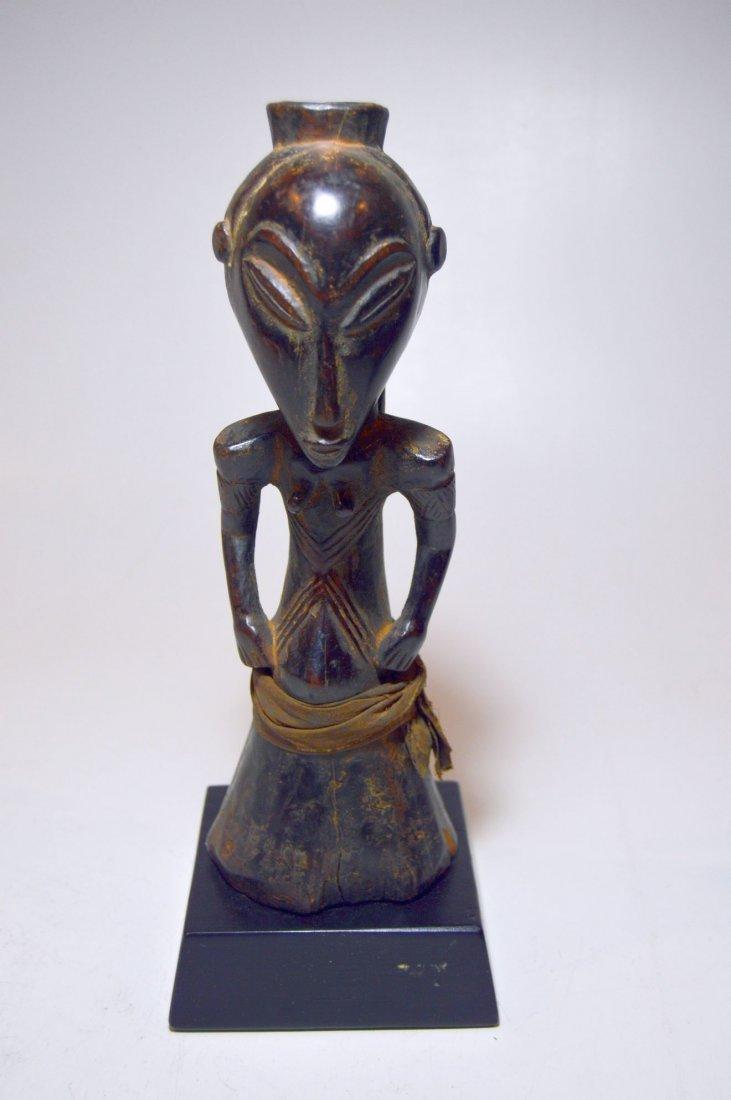 Bold Kusu magic Fetish sculpture African Tribal Art - 3