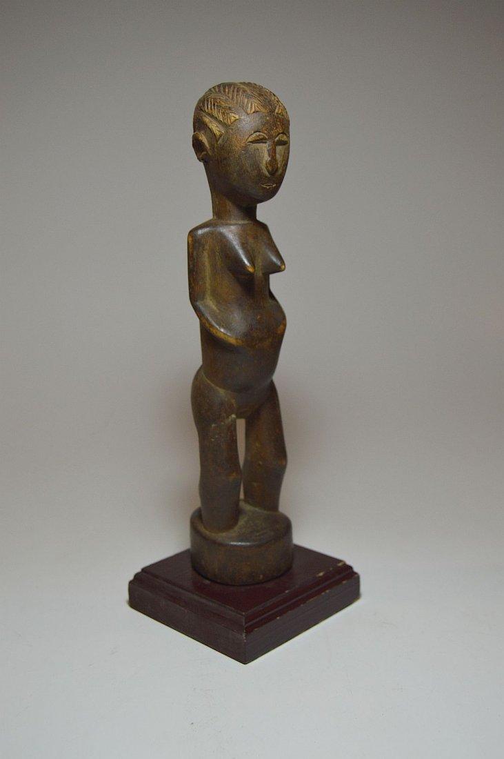A fine Old Baule female sculpture, African Art