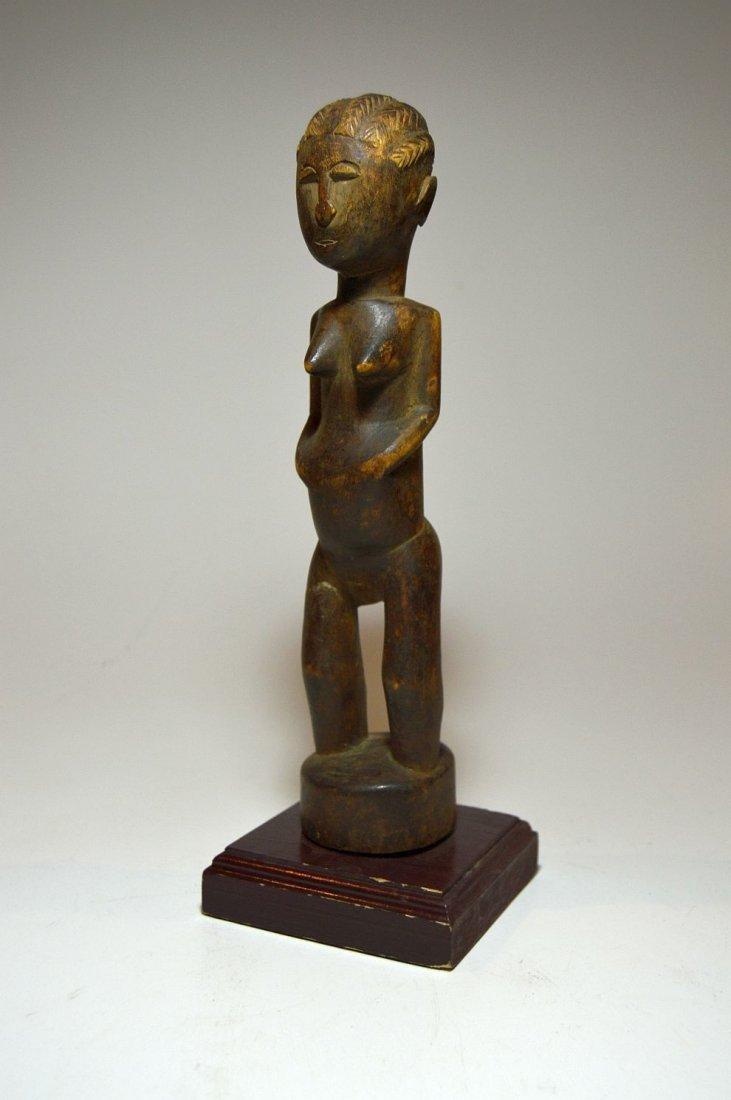 A fine Old Baule female sculpture, African Art - 2