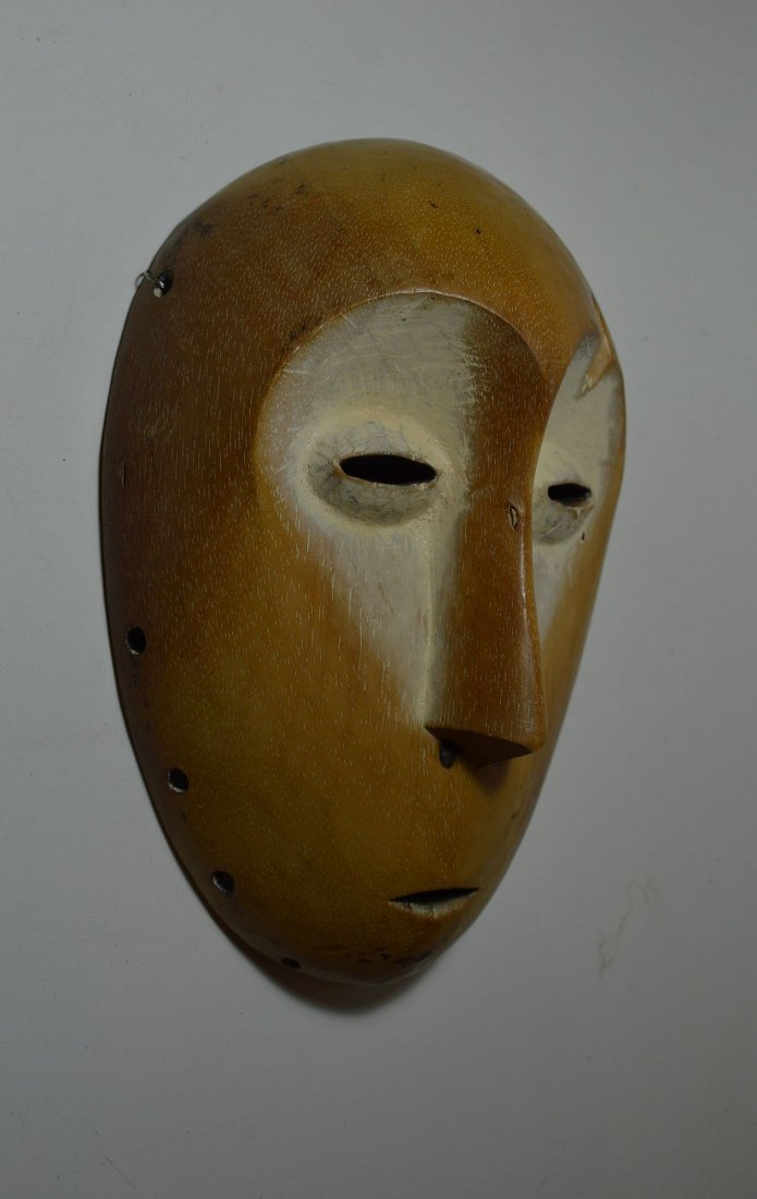 A Lega Bwami Society African Mask - 2