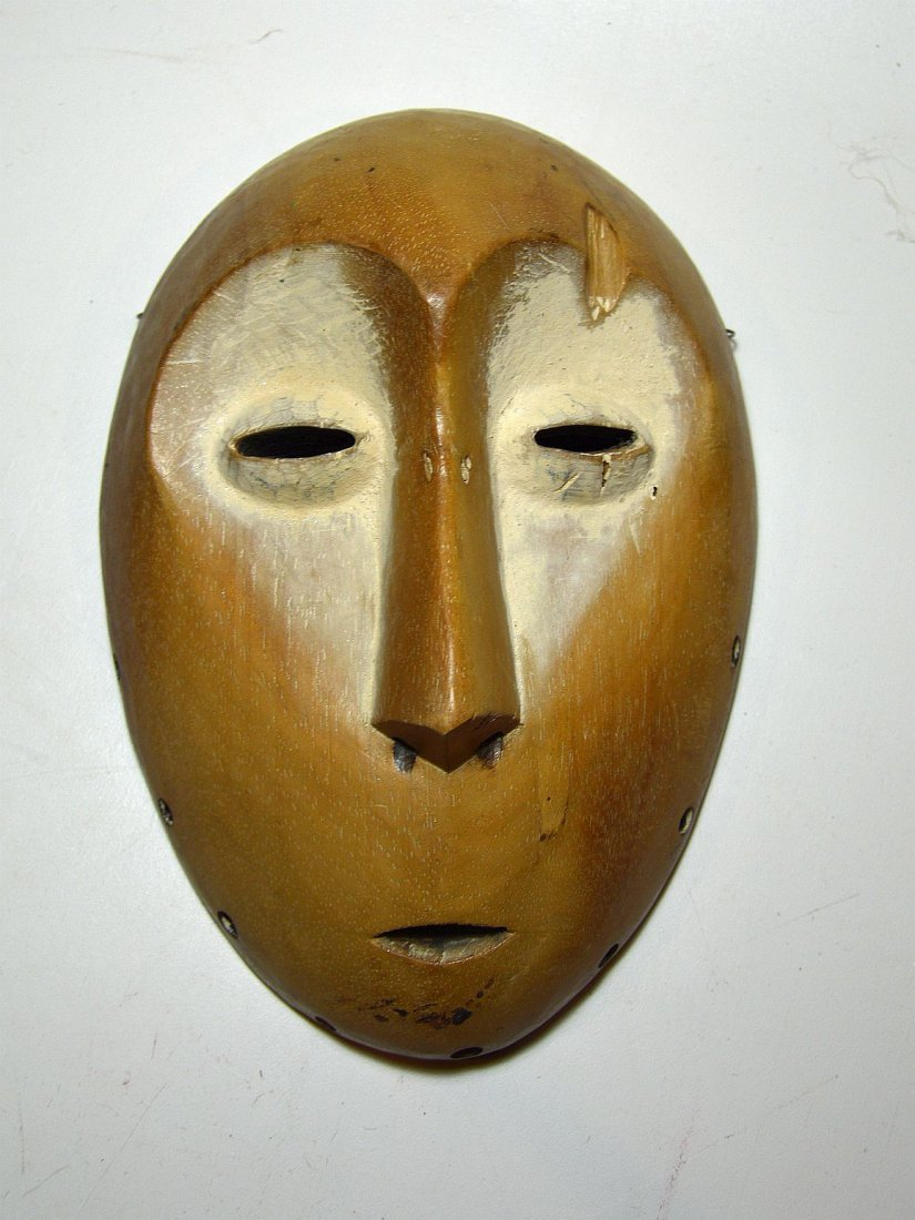 A Lega Bwami Society African Mask - 3