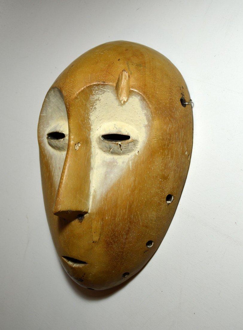 A Lega Bwami Society African Mask - 5