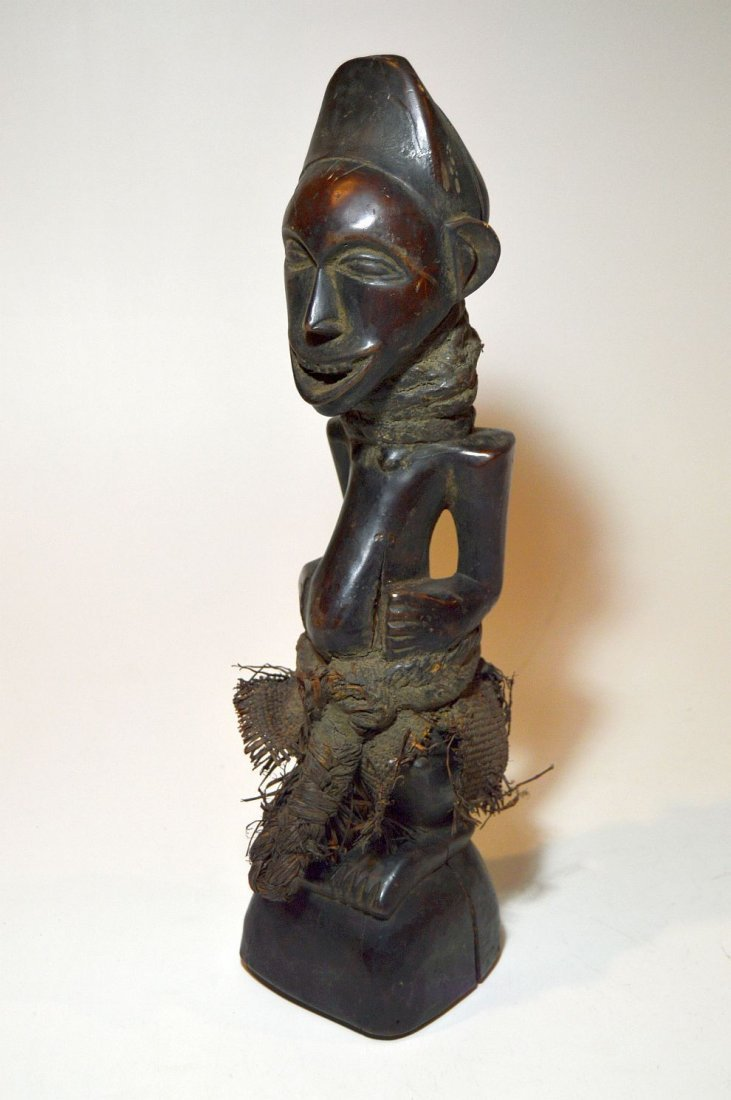 Songye Male sculpture with Wonderful Broad Smile
