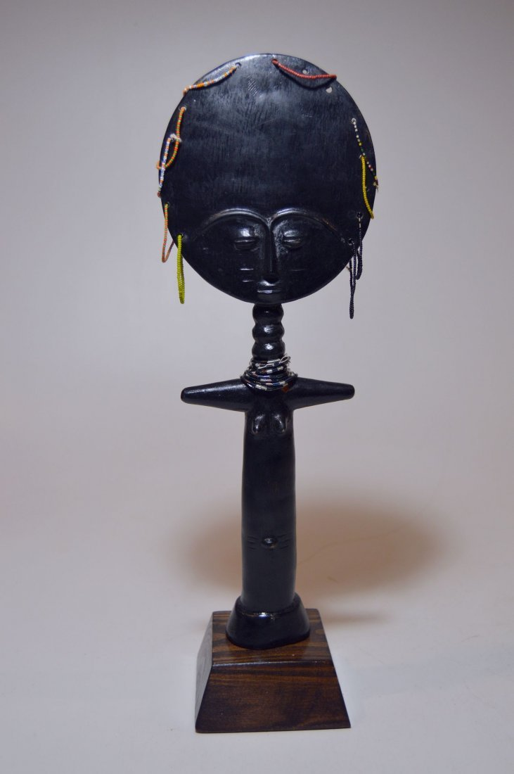 A Fine Ashanti Akuba Doll sculpture, African Tribal Art