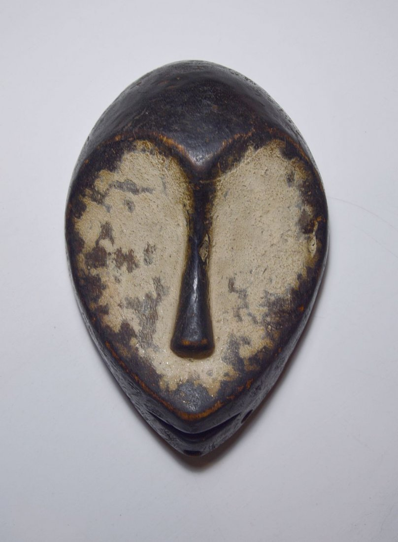 Finely carved Lega Bwami Society African Mask