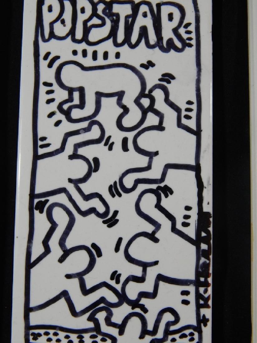 KEITH HARING (AMERICAN, 1958-1990) SUBWAY TILES - 3