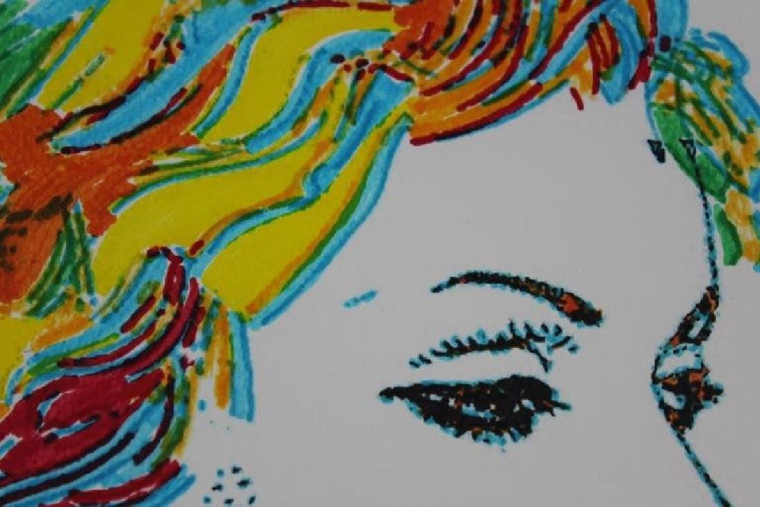 AFTER ANDY WARHOL SIGNED  INK DRAWING - 3