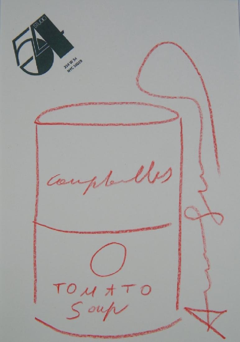 ANDY WARHOL (1928-1987)  DRAWING