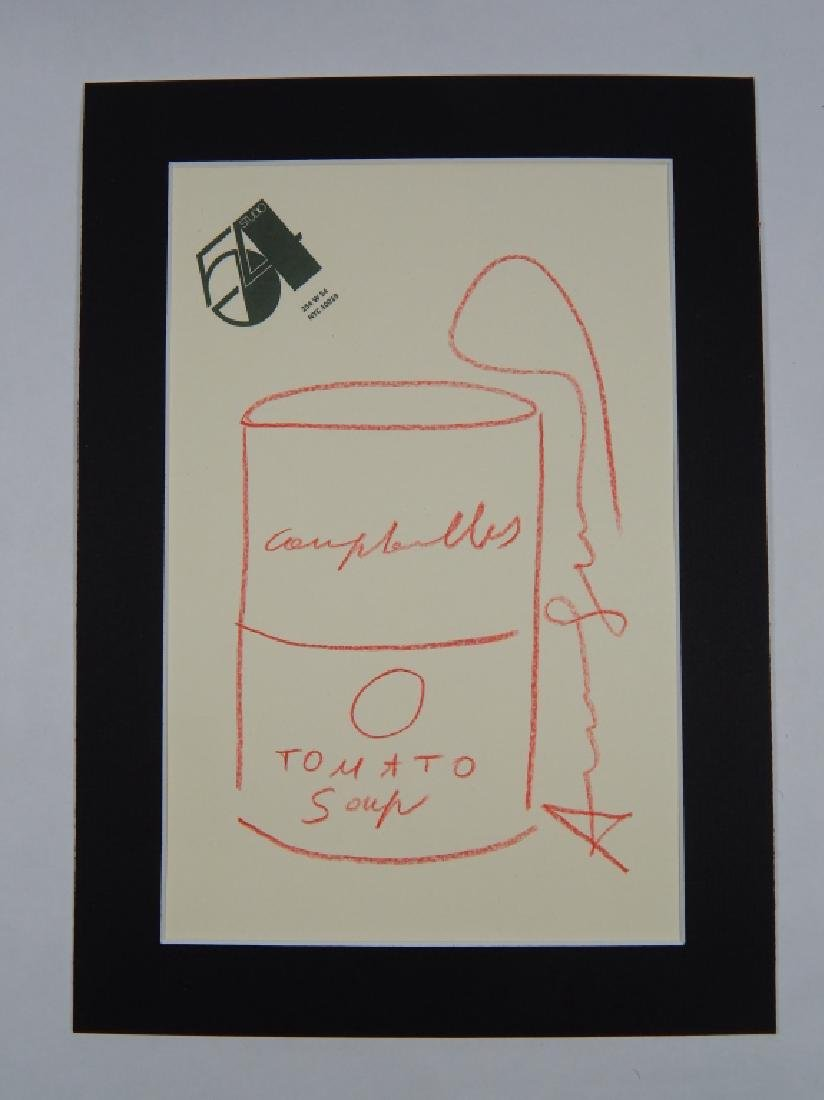 ANDY WARHOL (1928-1987)  DRAWING - 2