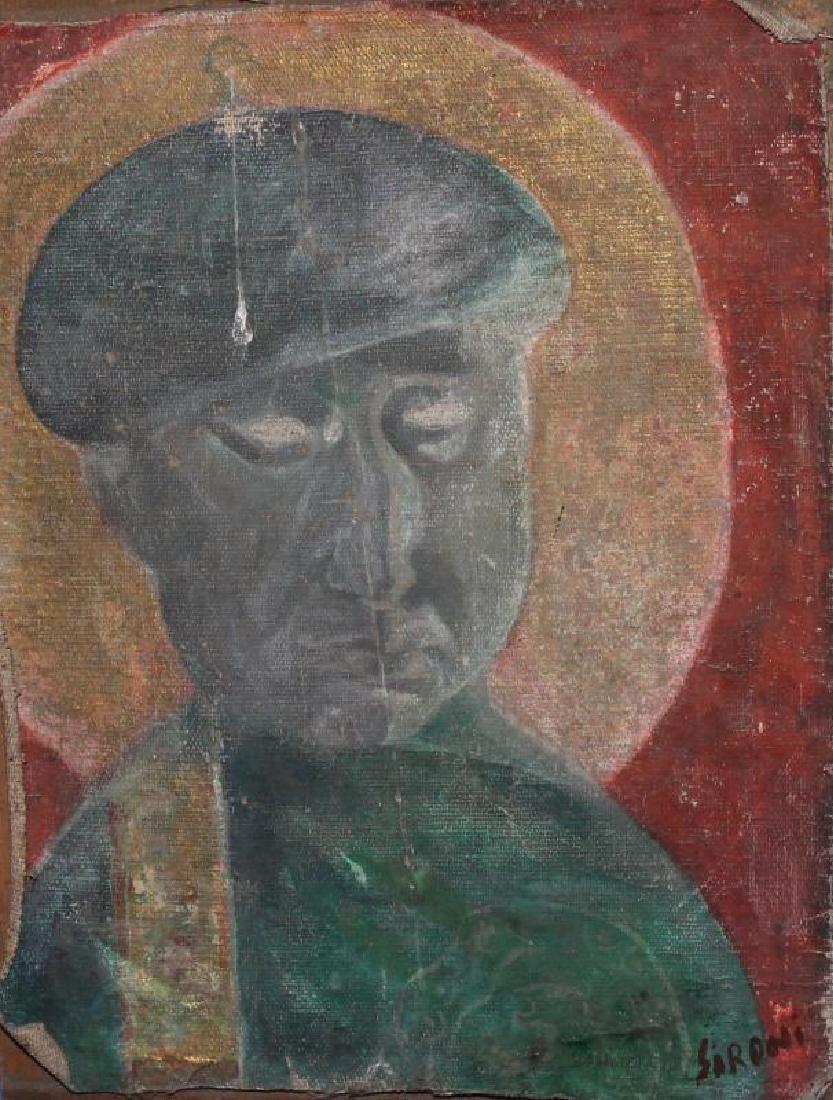 MARIO SIRONI (ITALIAN, 1885-1961) OIL PAINTING
