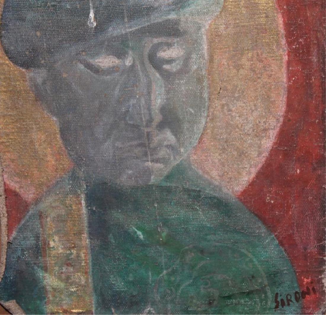 MARIO SIRONI (ITALIAN, 1885-1961) OIL PAINTING - 4