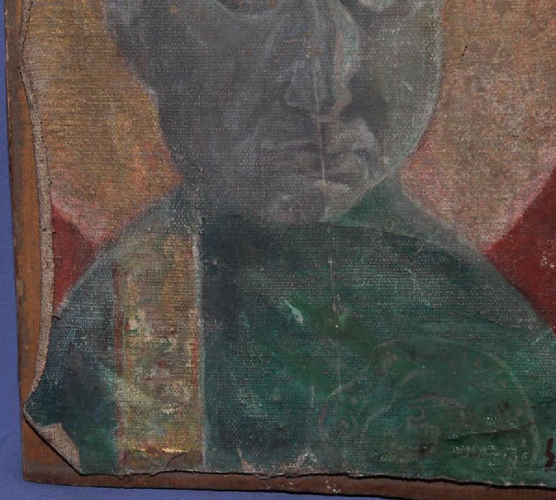 MARIO SIRONI (ITALIAN, 1885-1961) OIL PAINTING - 5