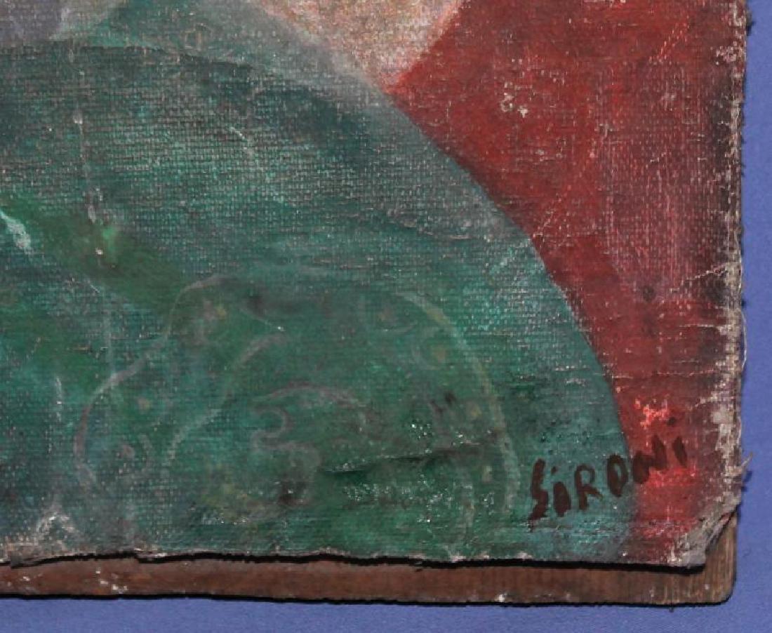 MARIO SIRONI (ITALIAN, 1885-1961) OIL PAINTING - 6