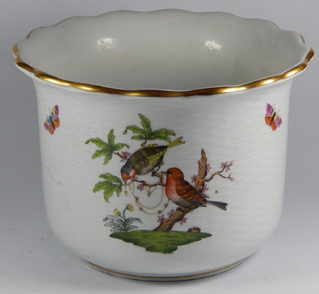 HEREND HUNGREY PORCELAIN ICE BUCKET