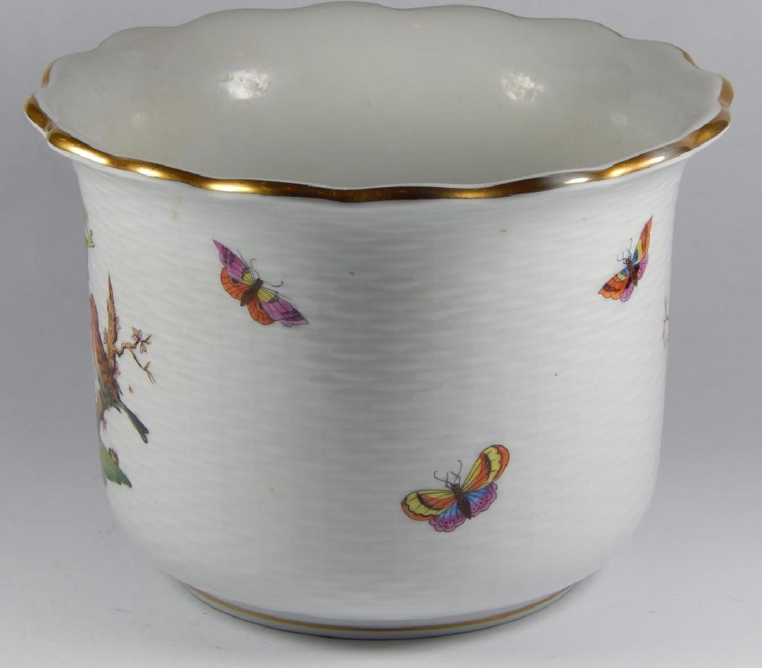 HEREND HUNGREY PORCELAIN ICE BUCKET - 3
