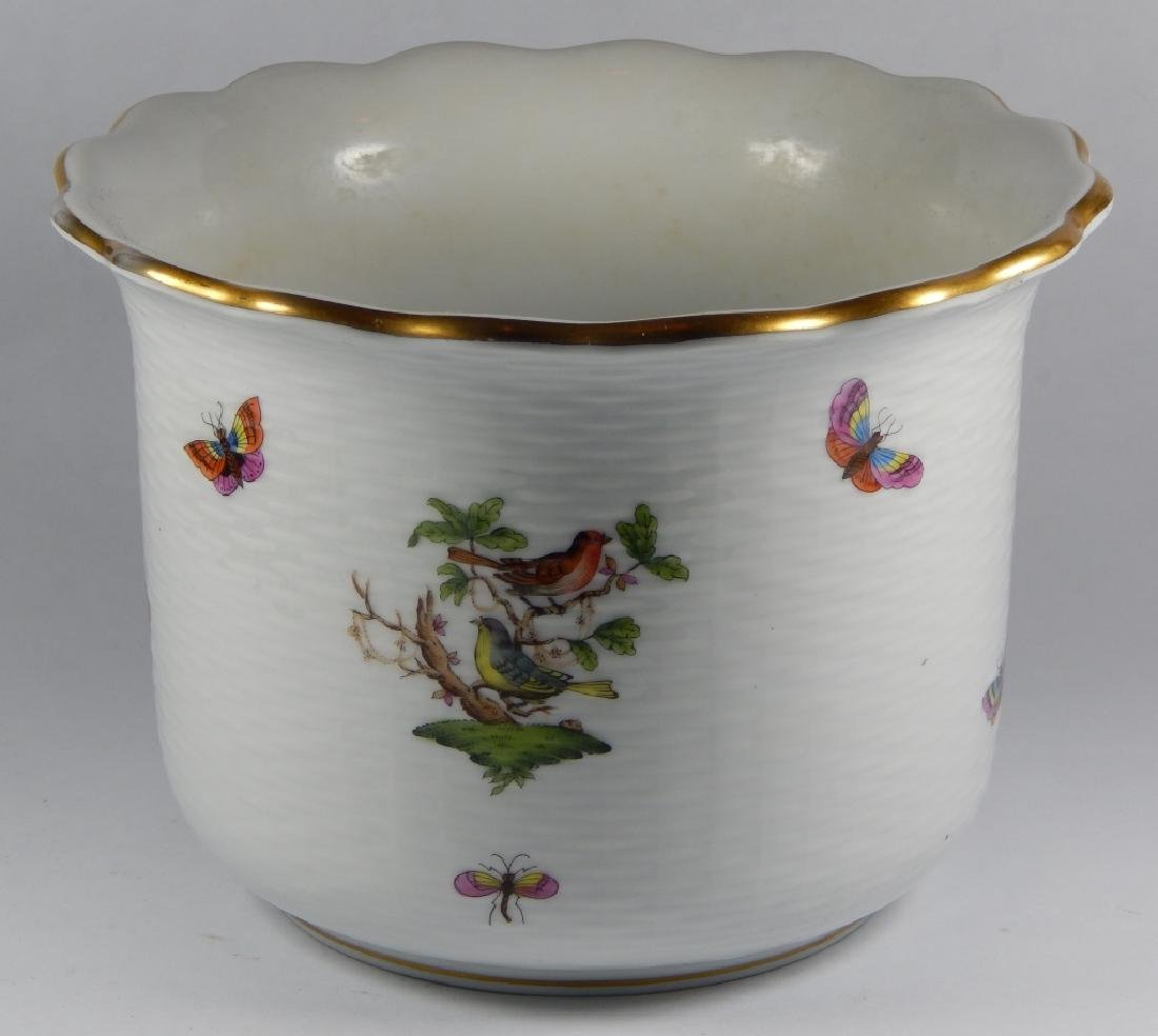 HEREND HUNGREY PORCELAIN ICE BUCKET - 4