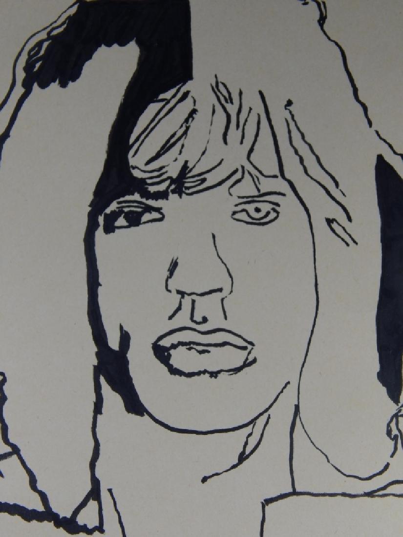 ANDY WARHOL (1928-1987)  STUDY DRAWING - 2