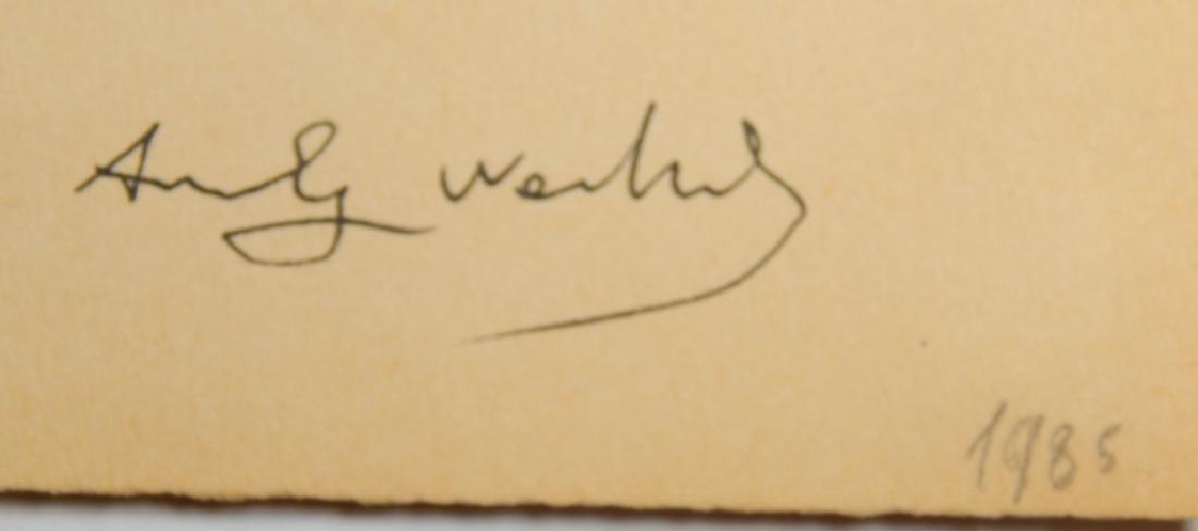 ANDY WARHOL (1928-1987)  STUDY DRAWING - 3