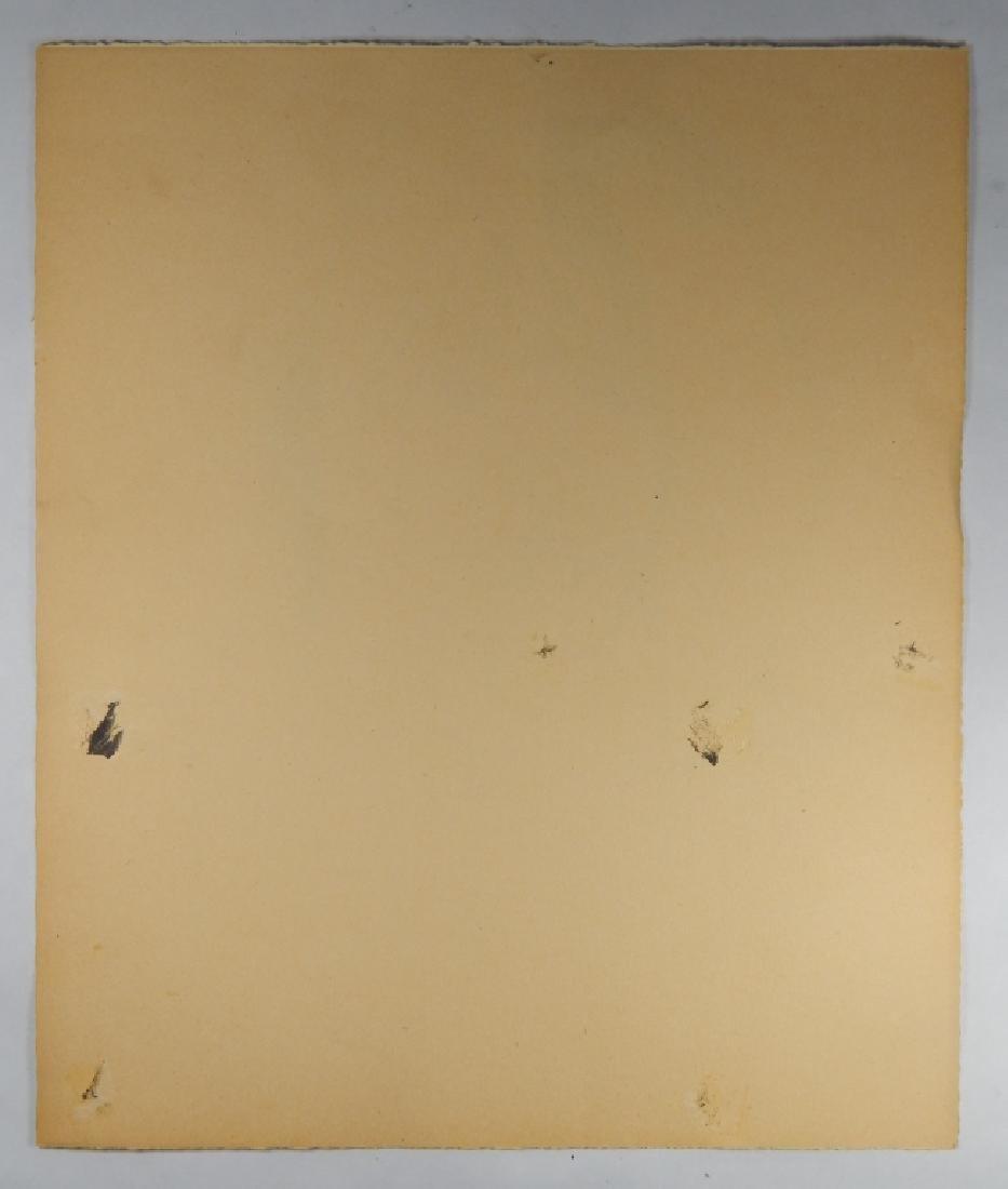 ANDY WARHOL (1928-1987)  STUDY DRAWING - 4
