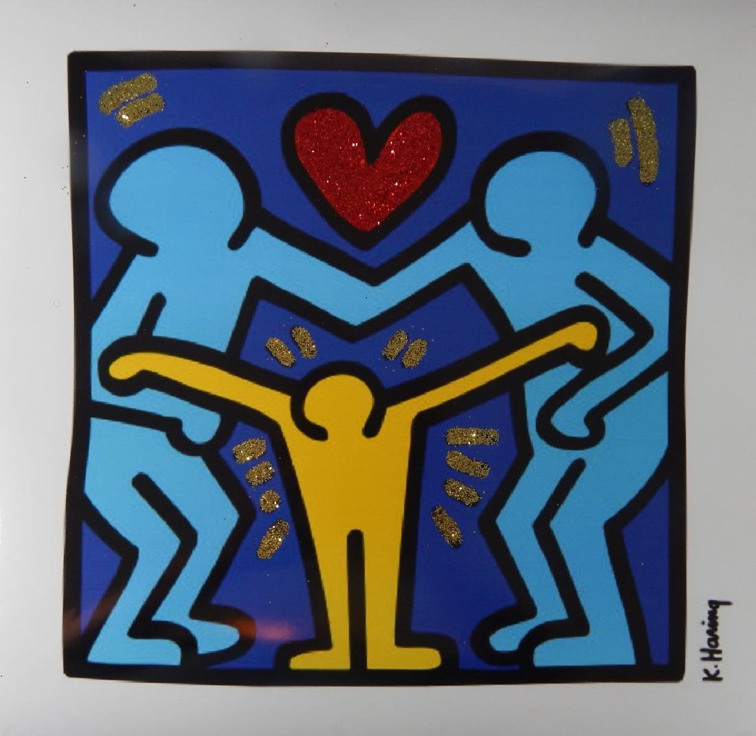 KEITH HARING 'AGAINST FAMILY VIOLENCE'  PRINT