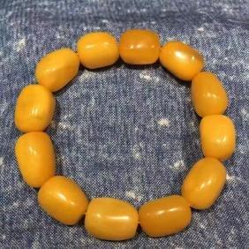 Chinese Amber Beads (19.05g)