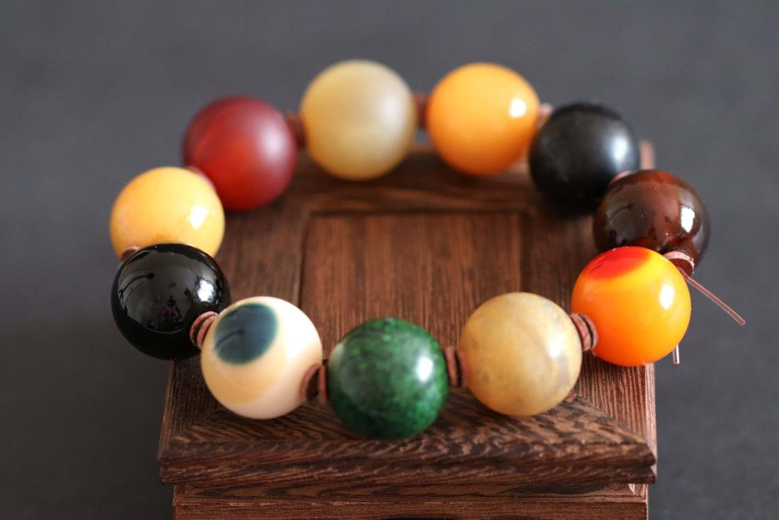 Chinese Carved Beads