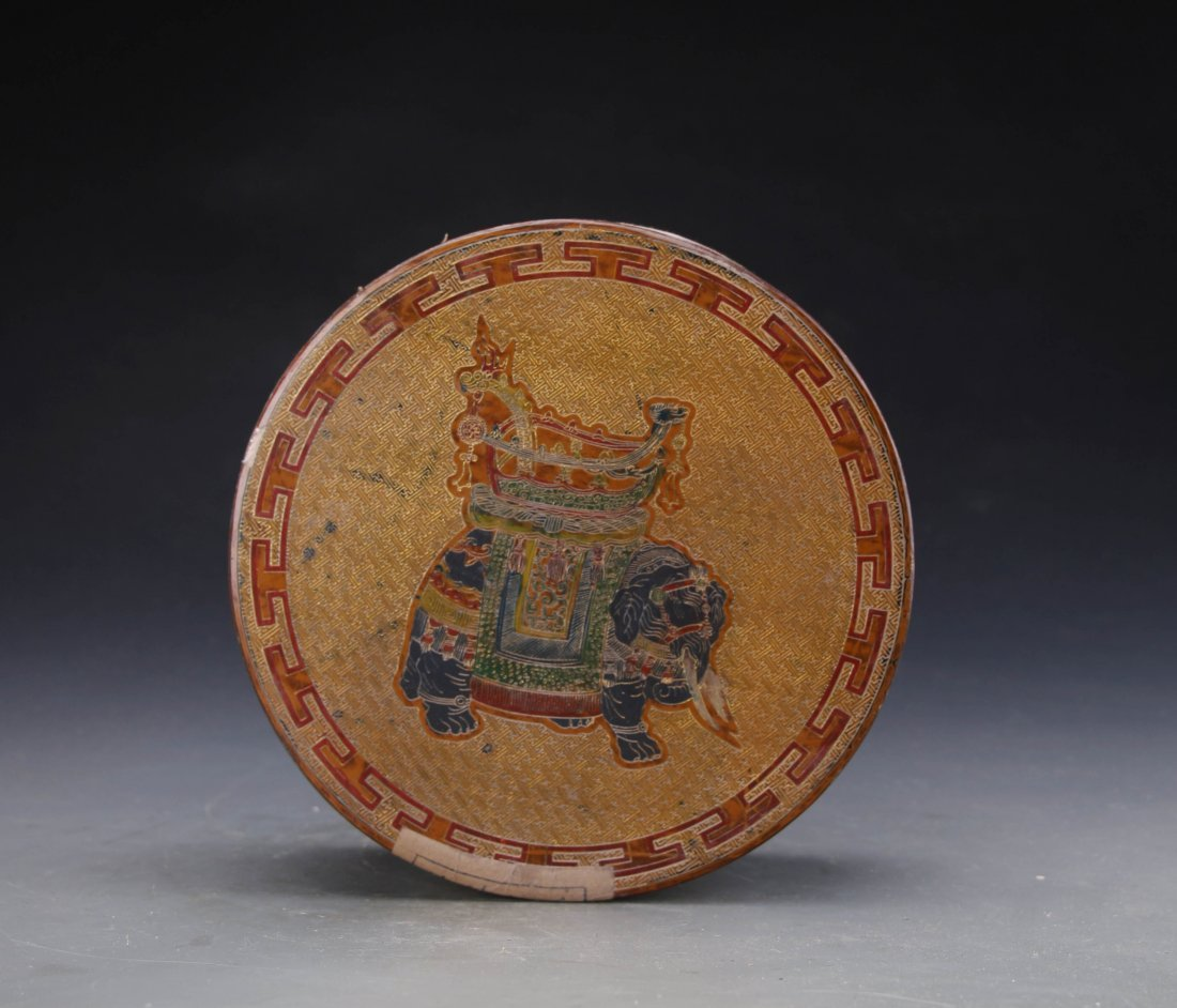 Chinese Lacqure Box with Joe Kee Tea House Pu'er Tea