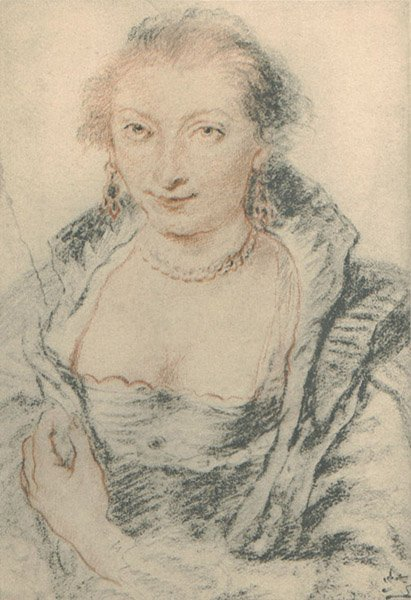 """2:  """"IsabellaBrant, after Rubens""""(the first wife of Rub"""