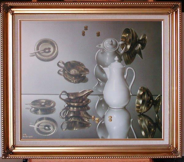 "7: ""Mirrors"" Vitally Grigoryev (Russian, b. 1957). 1999"