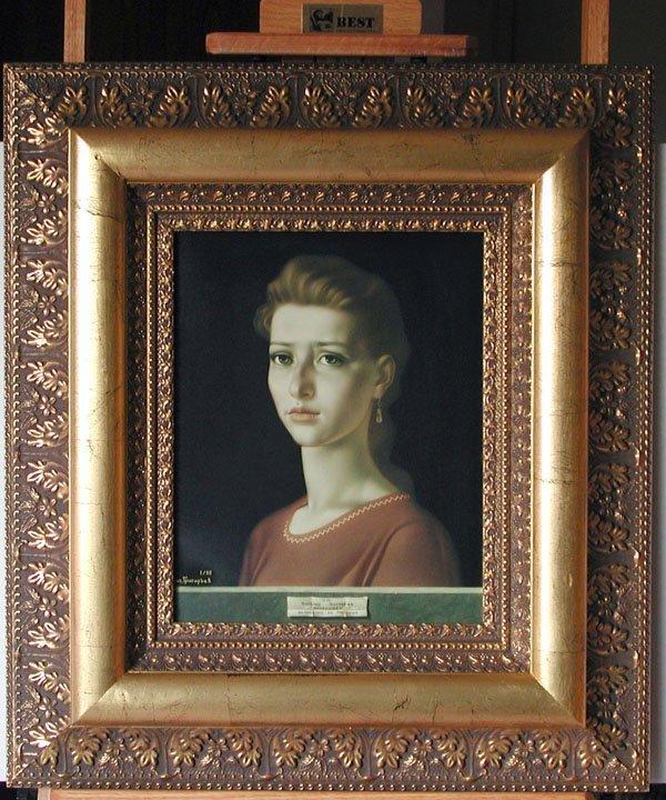 """10: """"Dedicated to Antonello da Messina"""" Vitally Grigory"""
