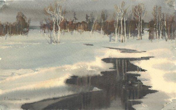 "17: ""The Winter Has Come"" Anna Landowska (Ukraine, b. 1"