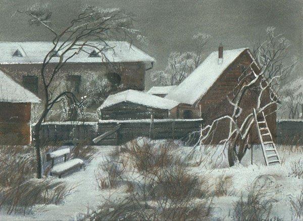 "21: ""Winter"" Anna Landowska (Ukraine, b. 1962). 1996 or"