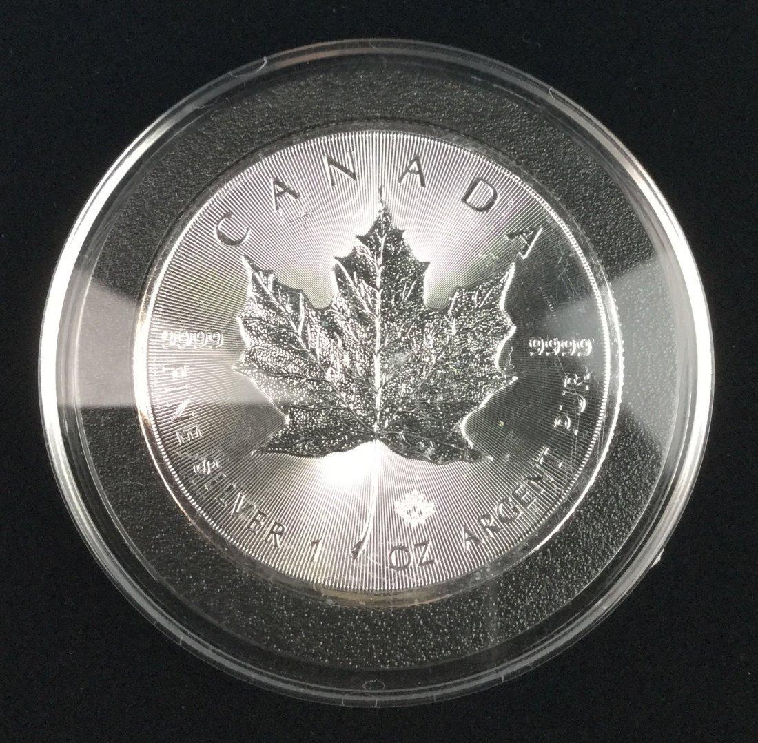 1 Ounce .999 Fine Silver Bullion Coin