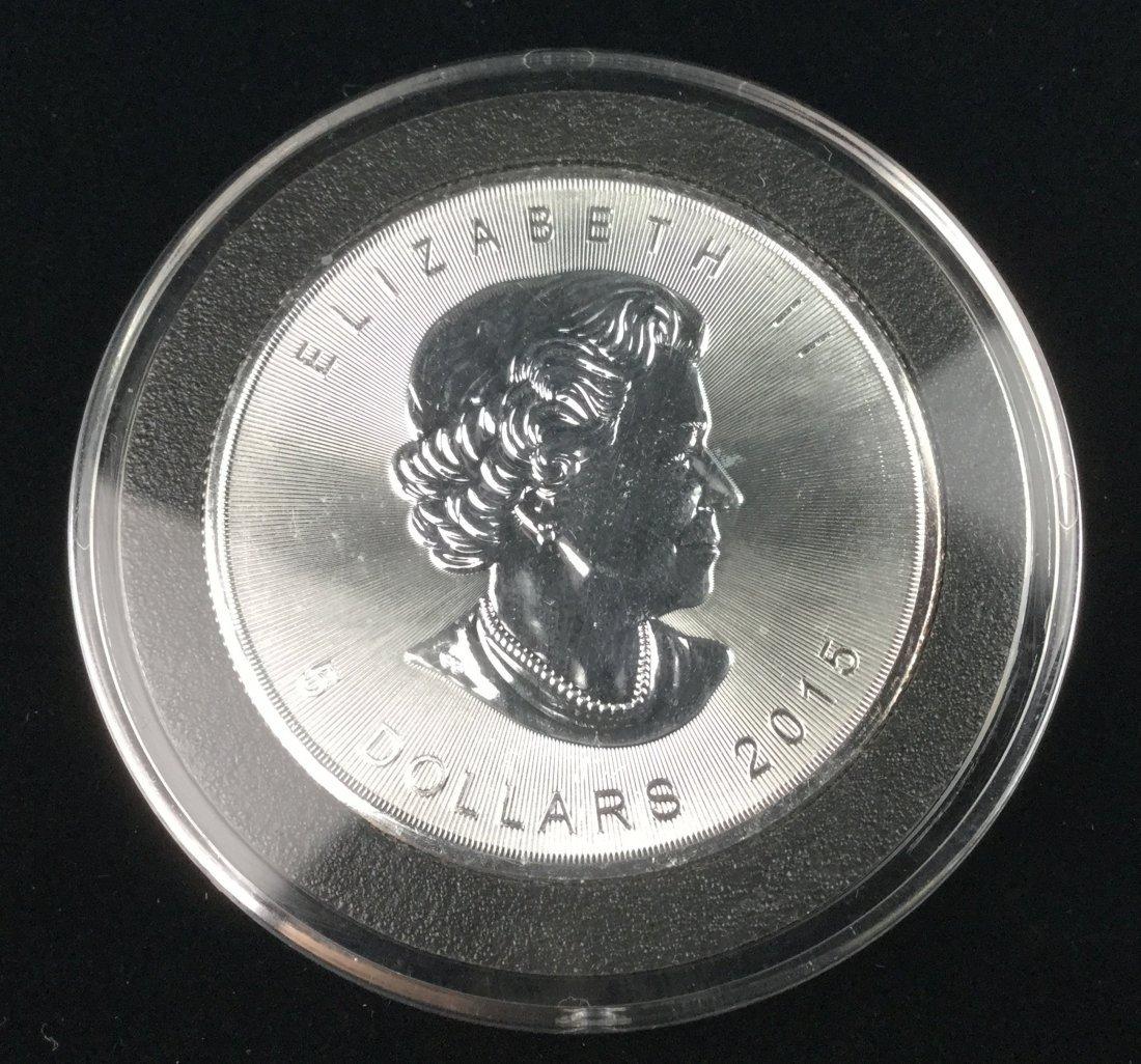 1 Ounce .999 Fine Silver Bullion Coin - 2