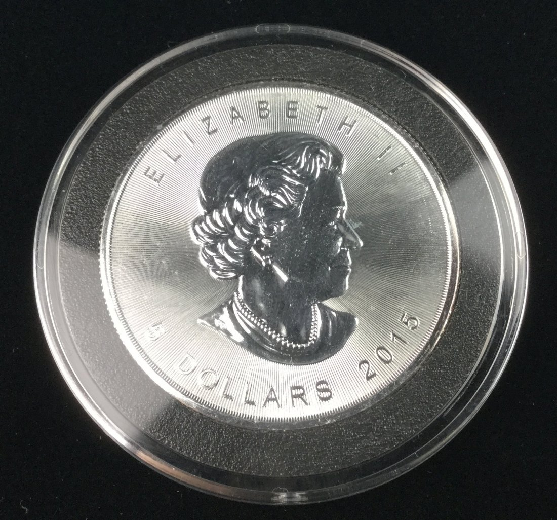 1 Ounce .999 Fine Silver Bullion Coin - 2