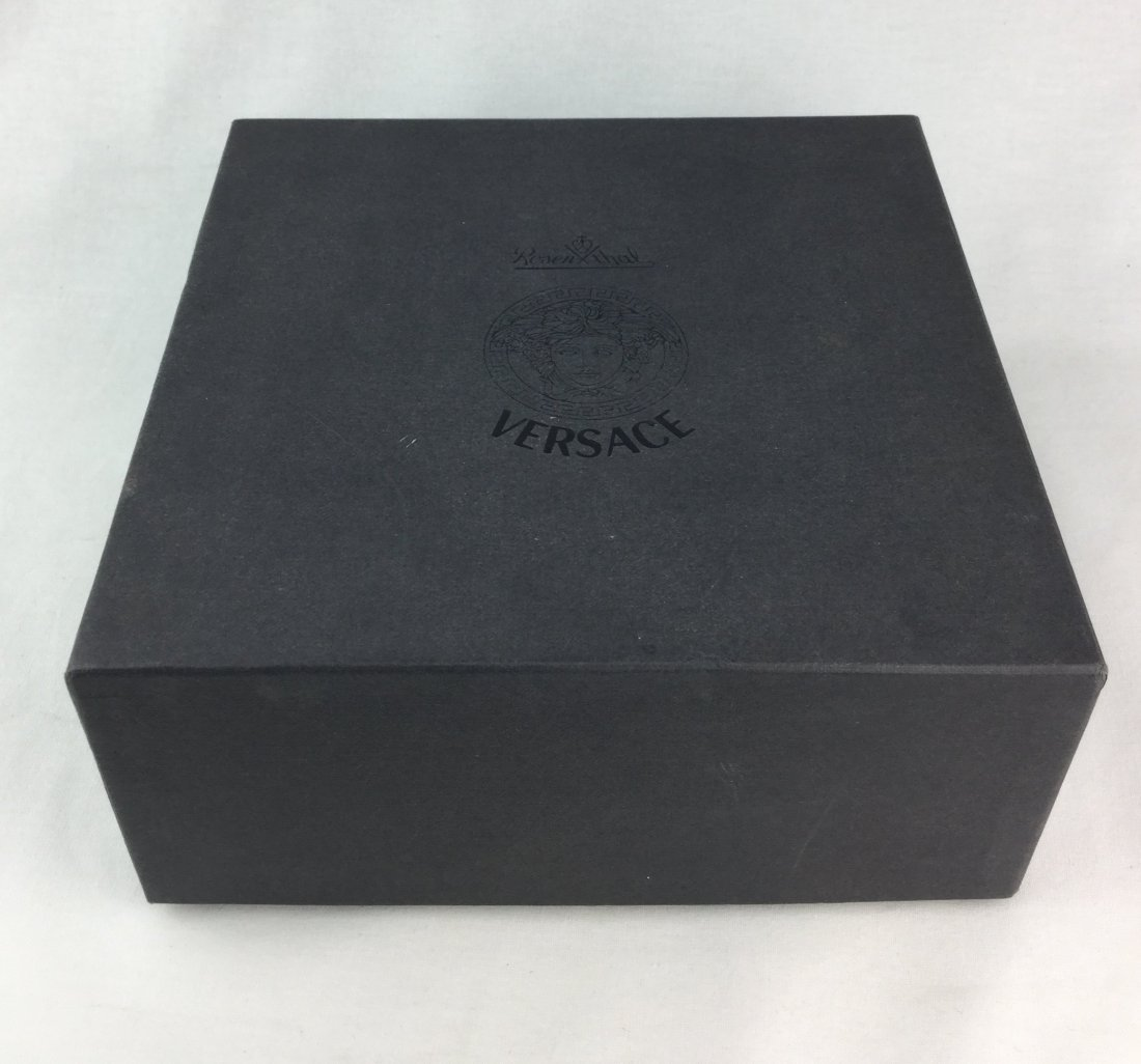 VERSACE Crystal Wine Coaster with Box - 2
