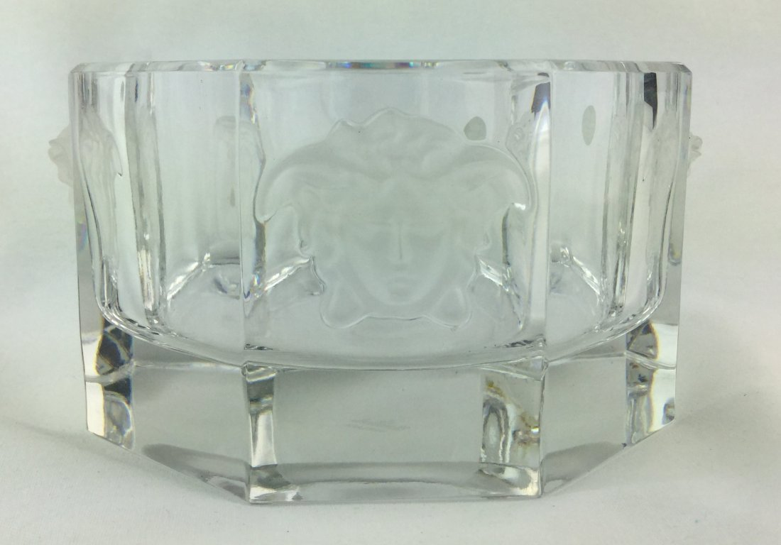 VERSACE Crystal Wine Coaster with Box - 3