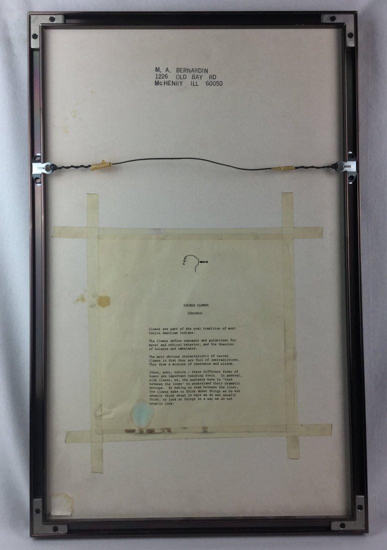 M. Bernardin Signed Lithograph - 4