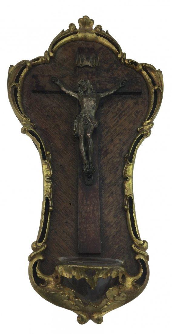 1800's Gold Gilt Bronze Religious Icon