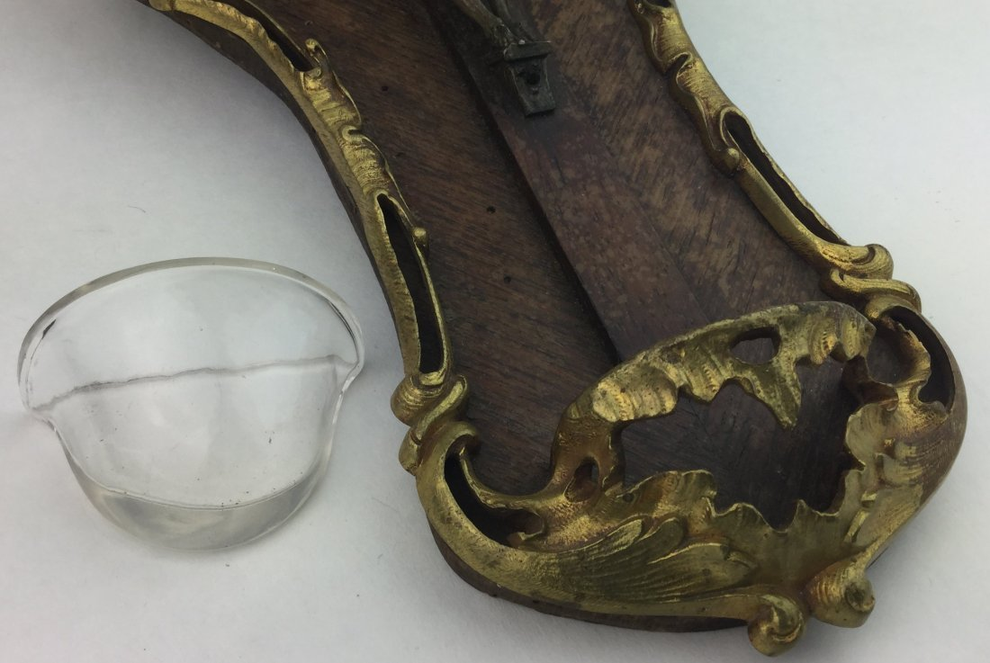 1800's Gold Gilt Bronze Religious Icon - 4