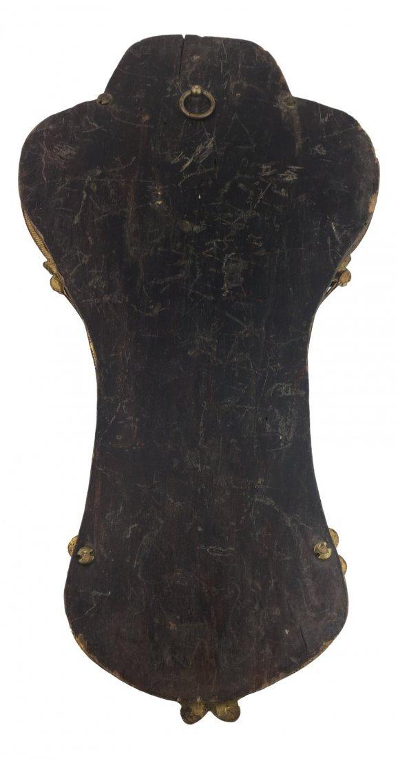 1800's Gold Gilt Bronze Religious Icon - 5