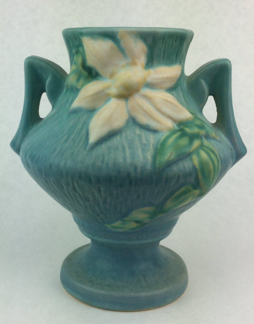Roseville Pottery Vase with Handles