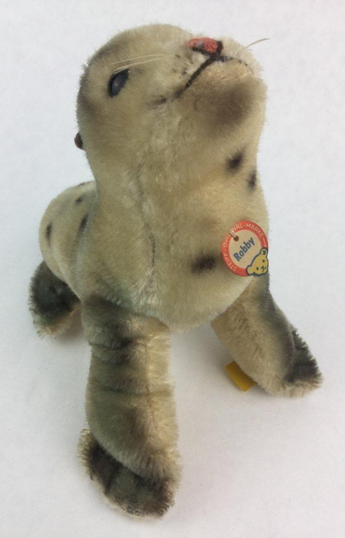 Vintage Steiff Animal Seal 'Robby'